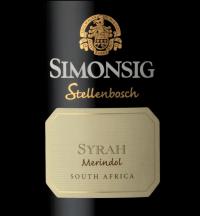 Simonsig Merindol Syrah 2008
