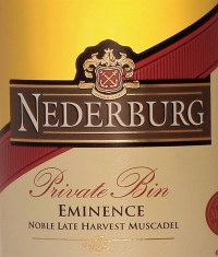 Nederburg Private Bin Eminence 2012