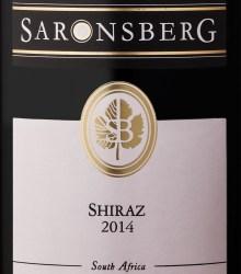 Saronsberg Shiraz 2014