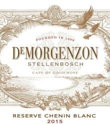 DeMorgenzon Reserve Chenin Blanc 2015