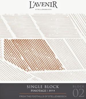 L'Avenir Single Block Pinotage 2014