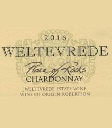 Weltevrede Place of Rocks Chardonnay 2016
