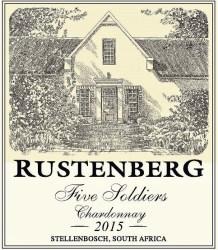 Rustenberg Five Soldiers Chardonnay 2015