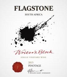 Flagstone Writer's Block Pinotage 2015