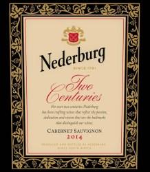 Nederburg Two Centuries Cabernet Sauvignon 2014