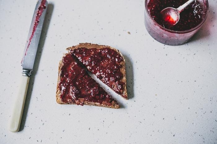 The Dessert: Nutella + Raspberry Jam