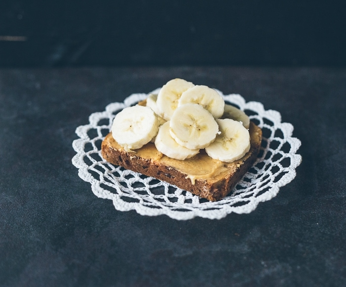 The Classic: Peanut butter + Honey + Banana