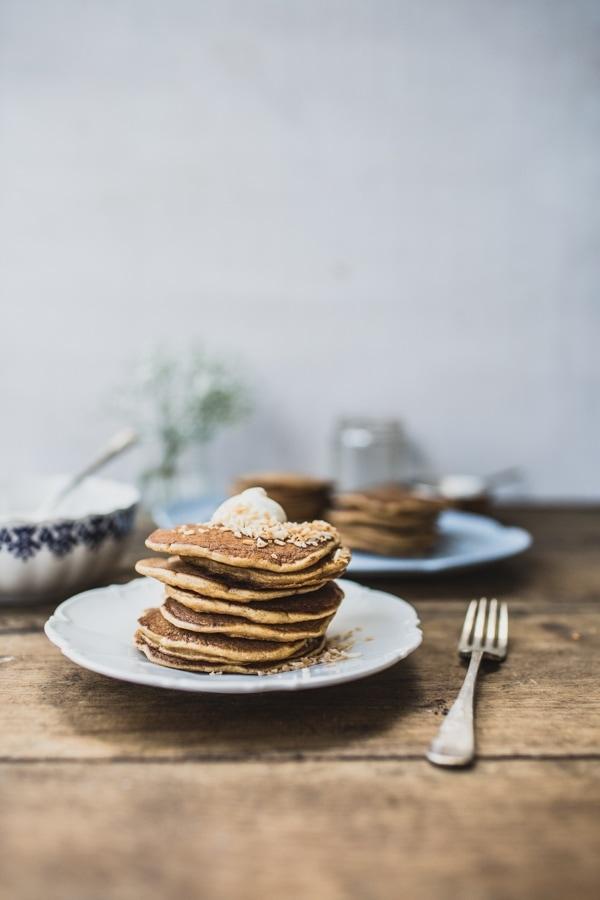 Carrot Cake Pancakes 039