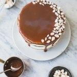 Gingerbread caramel cake 057