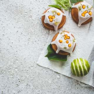 Elderflower, Lime and Mango Cakes 054