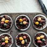 Easter Chocolate Peanut Butter Cheesecakes-47