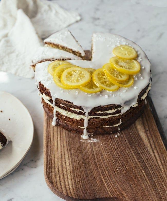 Lemony Zucchini Cake-13