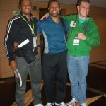 Leo Lima, Antonio Tenorio e Felipe