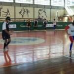 Registro da partida em que Minas derrotou Maranhão por 2 a 0, nesta segunda