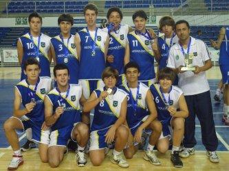 Vôlei do Granbery vence primeira fase da Copa Minas Tênis