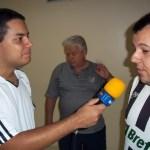 Henrique Fernandes entrevista João e Henrique Delvaux, torcedores alvinegros no hotel