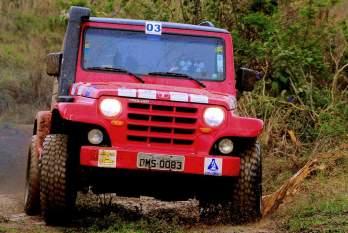 Chuva foi o tempero da última etapa da Copa Jeep Club JF