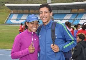 Keila Costa conquista índice do salto triplo para Olimpíadas de Londres