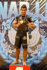 Abner Soares a caminho do Mundial de Jiu-Jitsu