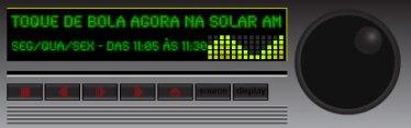 Toque de Bola na Solar AM