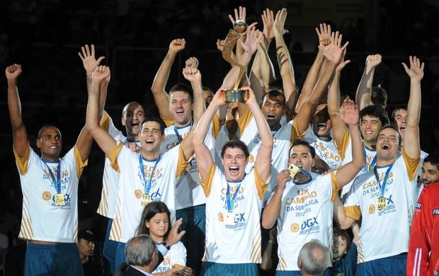 RJX é campeão da Superliga de Vôlei