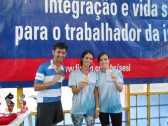 Tênis de mesa dos Jogos Sesi JF: veja fotos