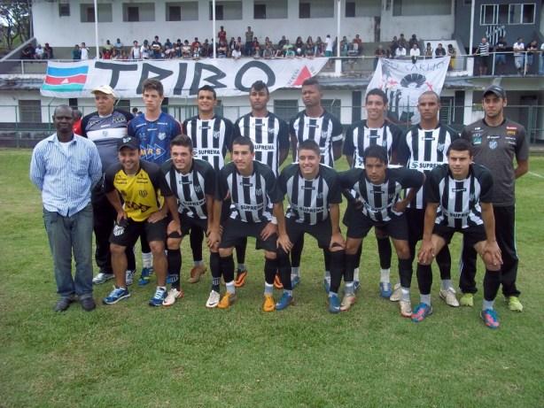 Jogadores do Tupi tiveram apoio da torcida juiz-forana durante a partida em Santa Terezinha. (Foto: Assessoria)