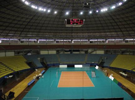 Ginásio Poliesportivo Adib Moyses Dib, a casa do time de São Bernardo do Campo. (Foto: Internet)