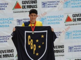 Atleta do Bom Pastor disputa Brasileiro Júnior de Natação