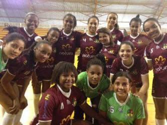 Meninas do Handebol de Matias são vice-campeãs do Brasileiro Escolar