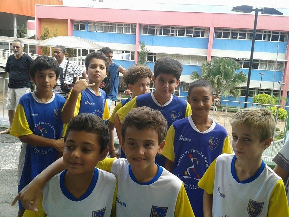 Copa Prefeitura Bahamas de Futsal: para muitos garotos, a primeira competição oficial