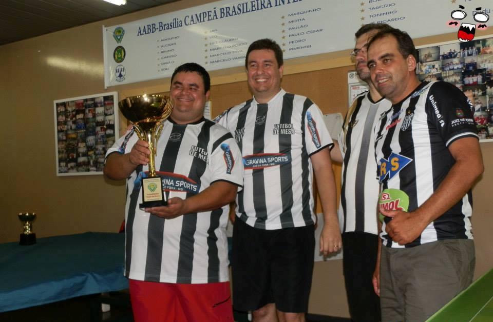 Quarteto campeão pelo Tupi em Brasília se destacou também nos rendimentos individuais