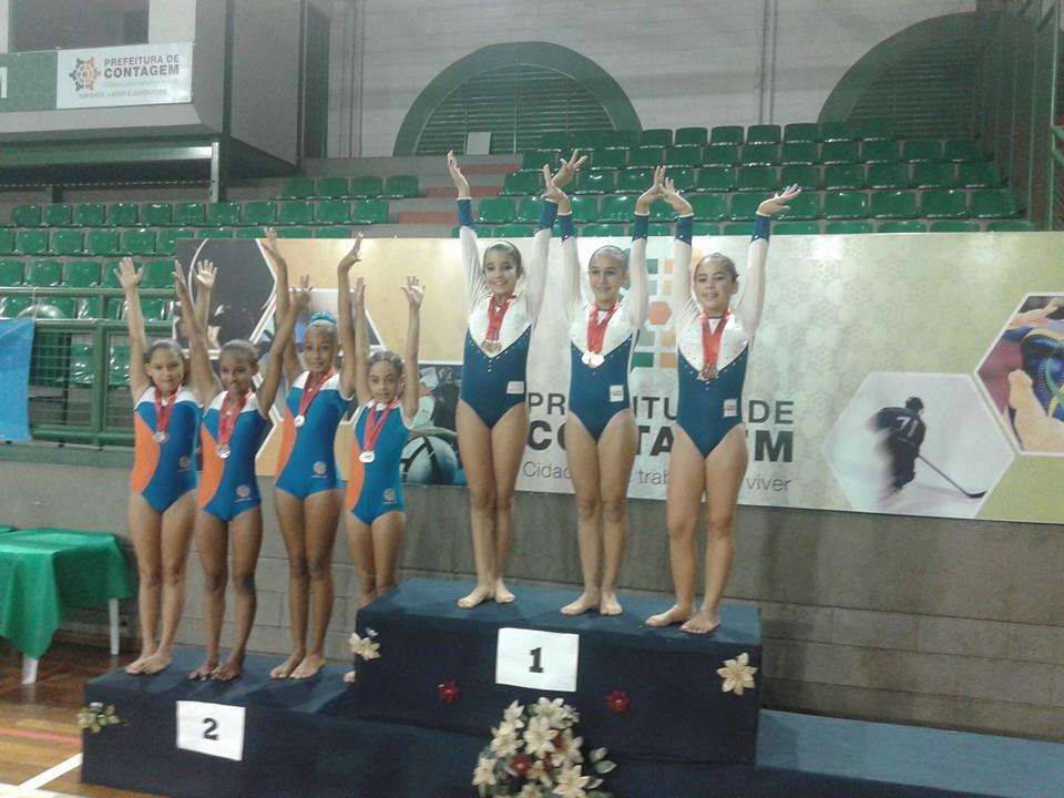 Ginastas juizforanos conquistam medalhas no Mineiro de Trampolim e miram Brasileiro