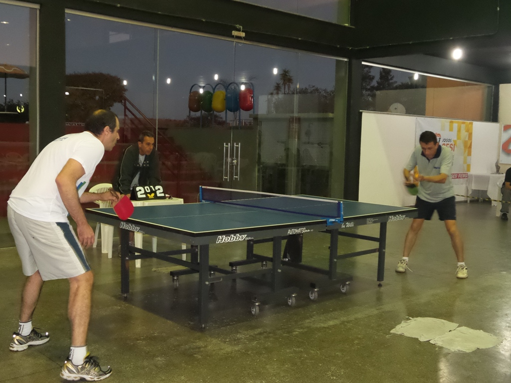 Romanelli x Sávio: final masculina do tênis de mesa dos Jogos Sesi Juiz de Fora