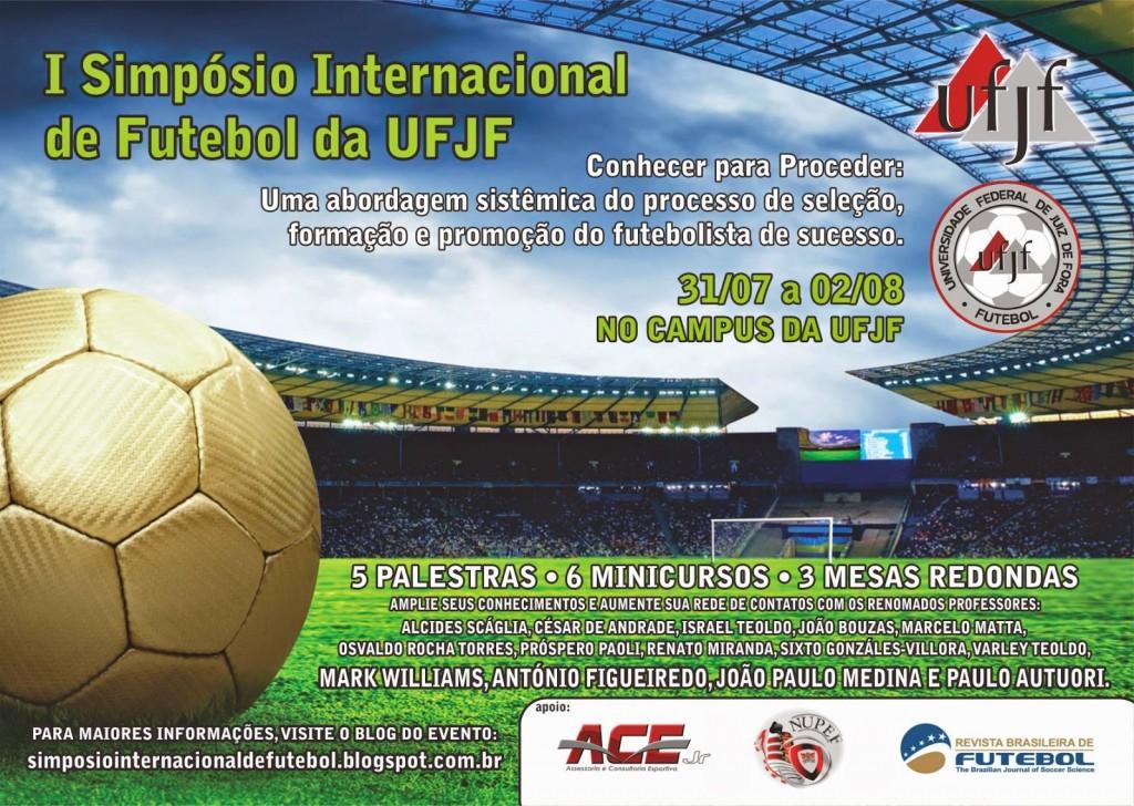 c12377851df92 Inscrições estão abertas para o I Simpósio Internacional de Futebol ...