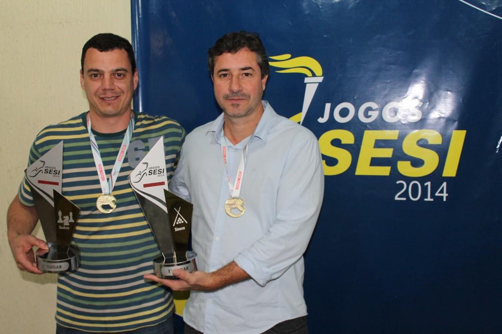 Estevão Freitas e Venício Reis levaram a Hiperrol ao primeiro lugar pela segunda vez consecutiva