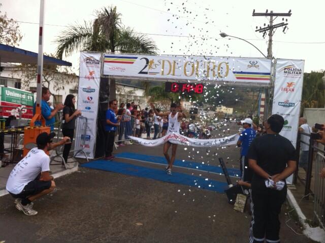 Eberth da Silva Silvério: primeiro lugar no geral masculino