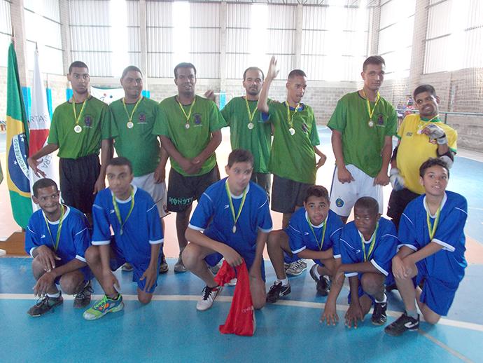 O futebol paralímpico foi a primeira modalidade da 2ª Semana Paralímpica