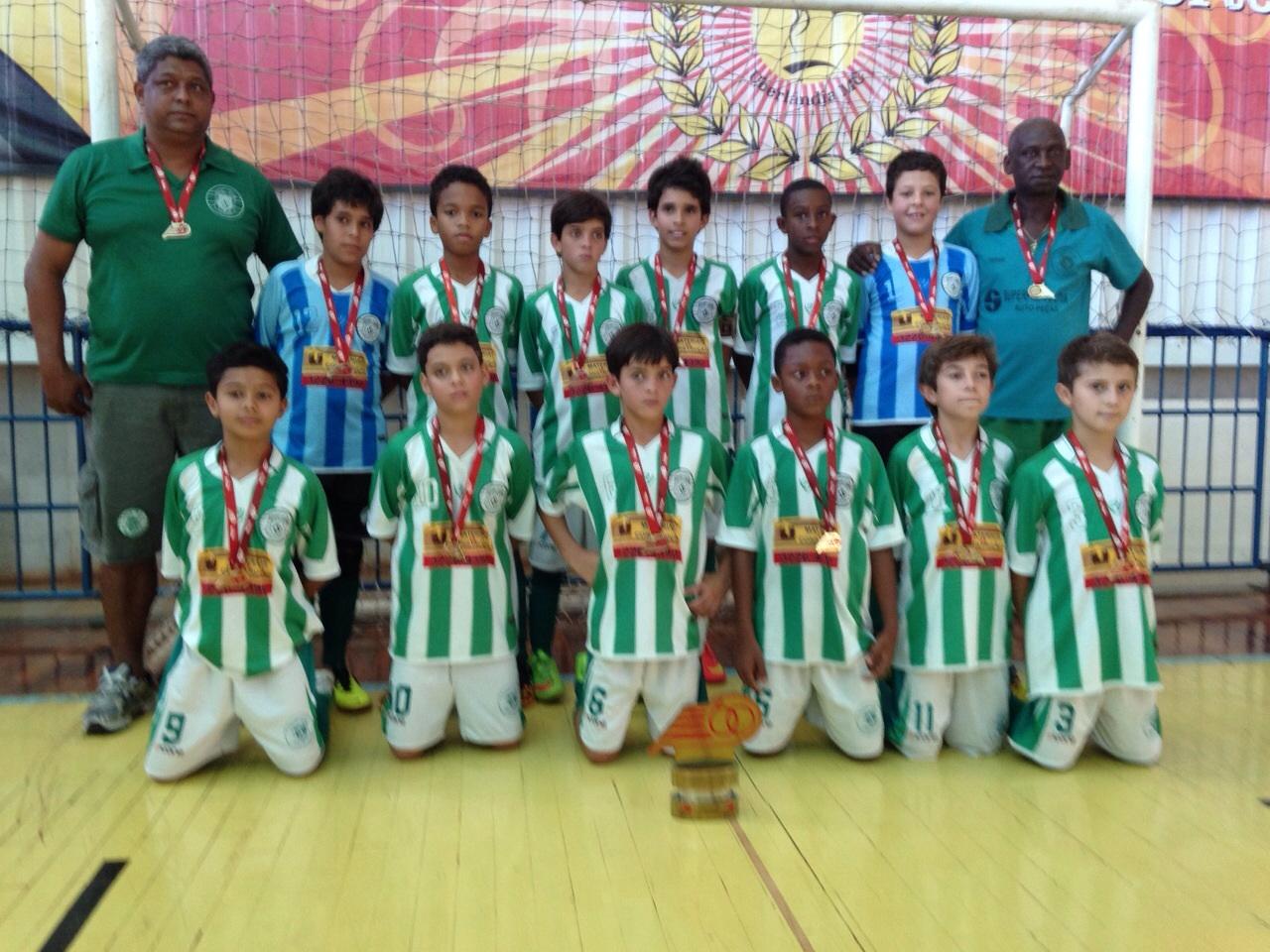 Sport Club Juiz de Fora  campeão estadual de futsal na categoria sub-11. f805edacce2d8