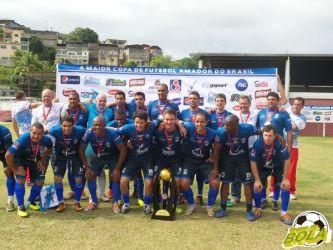 Sérgio e Poeta garantem título veterano da Rezato na Copa Prefeitura Bahamas de Futebol Amador 2014 (com vídeo)