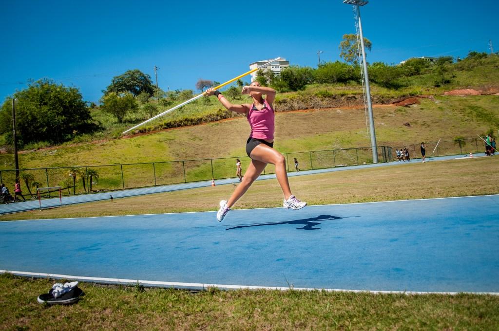 Atletismo na UFJF (Foto: Stefânia Sangi)