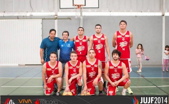 Estácio de Sá: campeã no basquete masculino nos JUJF 2014
