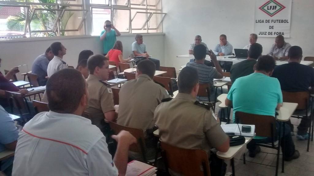 Encontro reuniu representantes da Polícia Militar