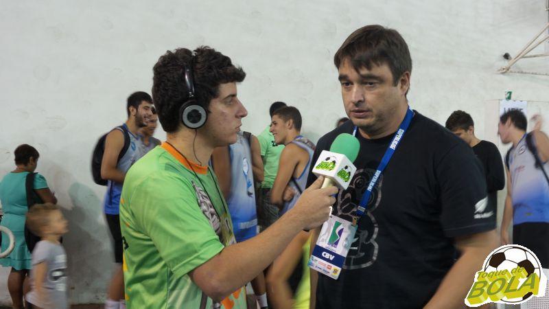 Experiente e renomado técnico de vôlei, Rubinho concedeu entrevista ao Toque de Bola