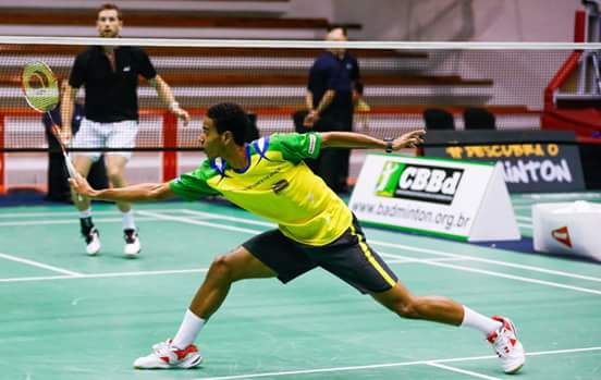 Ygor Coelho é um dos principais atletas de badminton do país. (Foto: Walter Moraes)