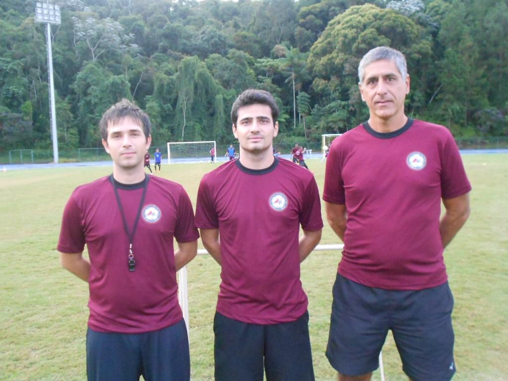 Bruno Próton, Thadeu Rodrigues e Marcelo Matta são treinadores do projeto