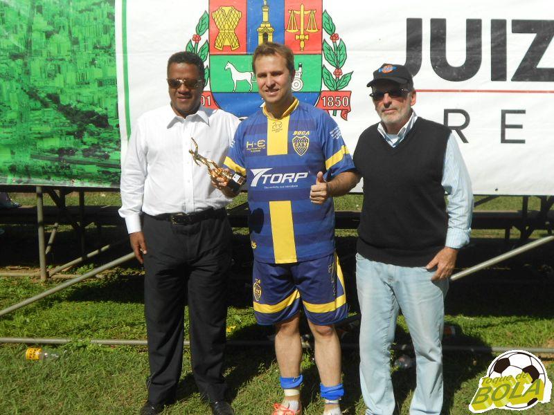 Artilheiro da categoria, Uelinton, do Boca Juniors: 10 gols em 10 jogos