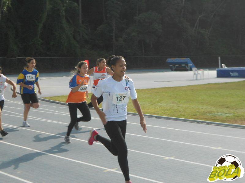 Soniele de Andrade, da BD, conquistou três ouro no Atletismo