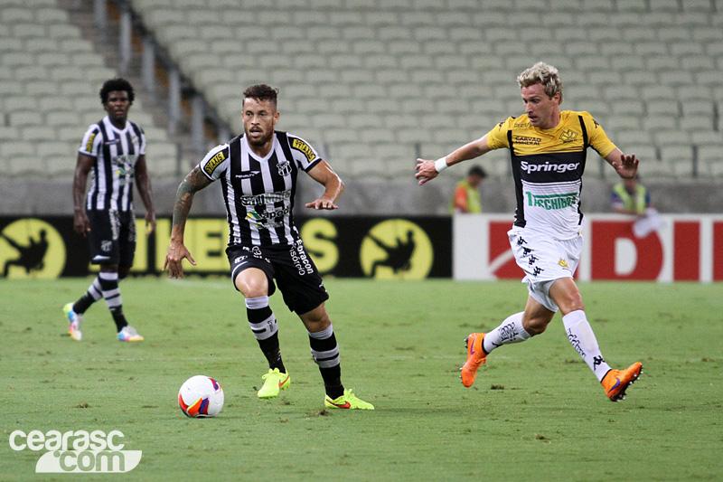 Na Série B, Ceará não vence a 10 rodadas.