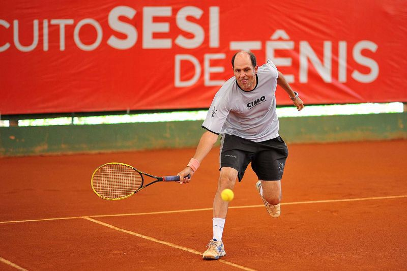 Jogos Sesi JF: com recorde de inscritos, tênis de campo começa nesta 5ª. Veja programação até domingo
